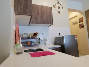 A kitchen or kitchenette at Themework Homestay@Cameron Highlands