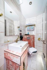 Koupelna v ubytování Pension Padre