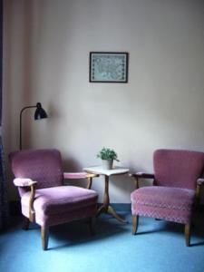 Гостиная зона в Hotel Columbo