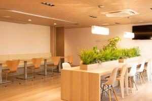 The lounge or bar area at First Cabin Tokyo Dome City