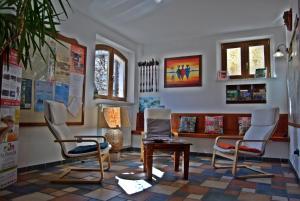 Area soggiorno di Casa Hotel Civitella