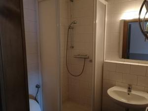 Koupelna v ubytování Hotel Kormoran