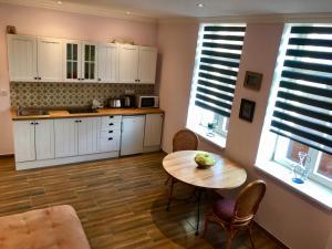 Kuchyň nebo kuchyňský kout v ubytování Apartment Dream
