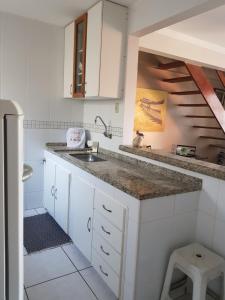 A cozinha ou cozinha compacta de Pousada Caminho do Mar