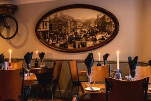 A restaurant or other place to eat at The Coach House Skipton