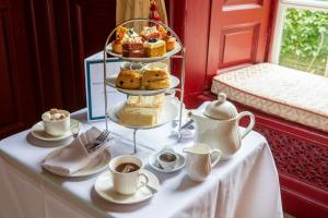 Breakfast options available to guests at Hintlesham Hall Hotel