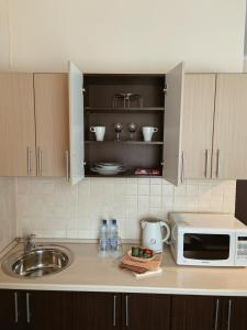 A kitchen or kitchenette at Antic