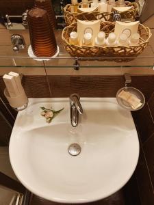 Ванная комната в Отель Антик