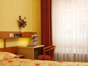 Ein Sitzbereich in der Unterkunft Hotel Zurich