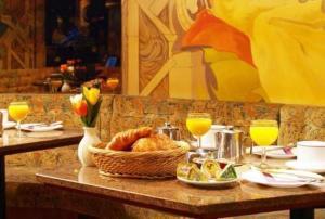 Frühstücksoptionen für Gäste der Unterkunft Hotel Zurich