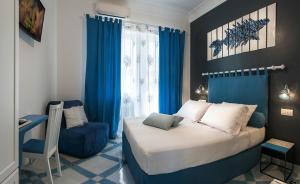 Area soggiorno di B&B Amalfè