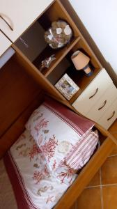 Letto o letti in una camera di Granelli di Sale
