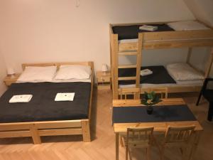 Een stapelbed of stapelbedden in een kamer bij Apartment 5