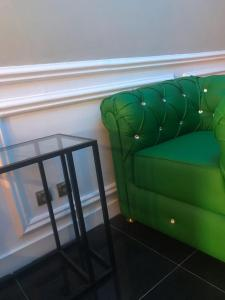 A seating area at Scaimba hotel