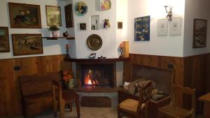 The lobby or reception area at Agriturismo Volpe Golosa