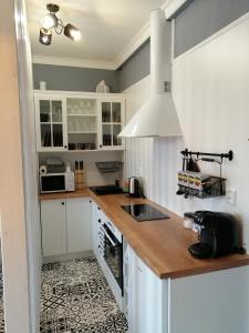 Кухня или мини-кухня в PÁLFFY