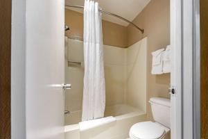 A bathroom at Quality Inn Monterey