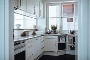 Küche/Küchenzeile in der Unterkunft Arenberg 29b PAUL