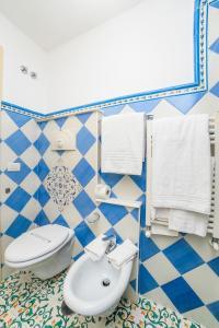 A bathroom at Hotel Bonadies