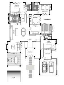 The floor plan of Innokenti
