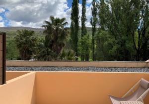 A balcony or terrace at Hotel Balneario Valle del Jerte