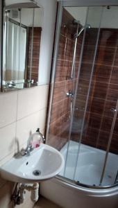 Łazienka w obiekcie Pokoje u Juroszka