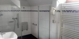 Koupelna v ubytování Hotel Atrium Varnsdorf