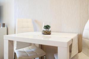 Posezení v ubytování Golden Apartments Rezidence Nová Karolina