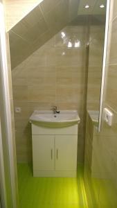 Koupelna v ubytování Apartment Nad Punkvou