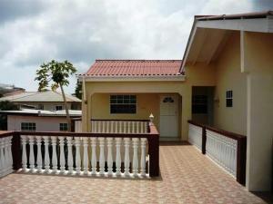 Uma varanda ou terraço em Roxsha Apartments