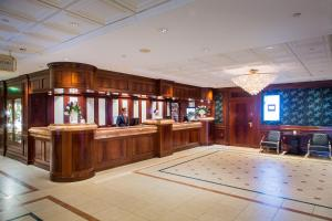 The lobby or reception area at Beach Hotel Noordwijk