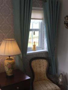 A seating area at Killyliss Country House B&B