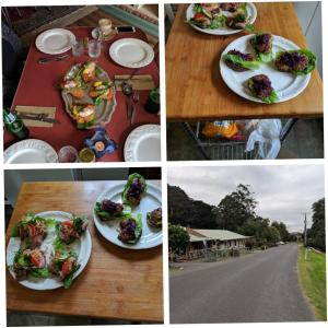 Lunch and/or dinner options available to guests at Tarra Bulga Guesthouse