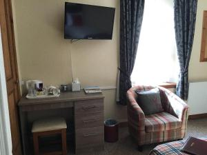 A television and/or entertainment center at Eskdale Guest House