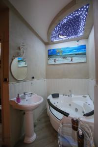 Ванная комната в Pensione Enea