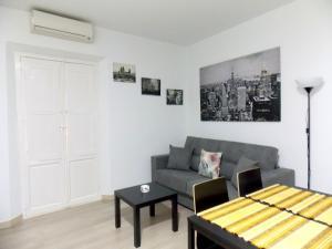 Zona de estar de Apartamentos Capuchinas