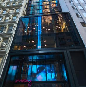 A view of the pool at Moxy NYC Downtown or nearby