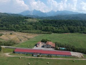 Vista aerea di Agriturismo La Praduscella