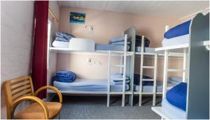 A bunk bed or bunk beds in a room at Lochside Hostel, Loch Ness