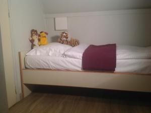 A bed or beds in a room at Melrose 'Puur Logies'