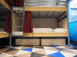 A bunk bed or bunk beds in a room at St Christopher's Liverpool Street