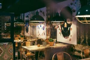 A restaurant or other place to eat at Break Sokos Hotel Vuokatti