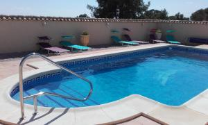 The swimming pool at or near B&B Los Zuecos