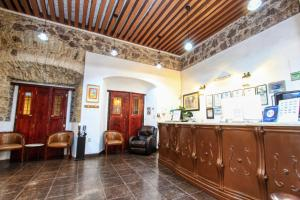 The lobby or reception area at La Casona de Don Lucas