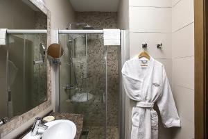 Ванная комната в Гостиница Бон Апарт