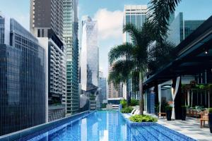 The swimming pool at or near SO/ Sofitel Singapore (SG Clean)