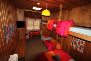 A bunk bed or bunk beds in a room at Bunkhouse Motel