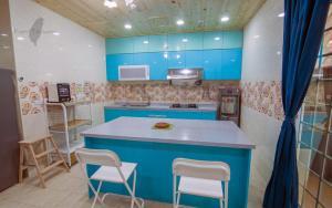 荷比8號電梯民宿廚房或簡易廚房