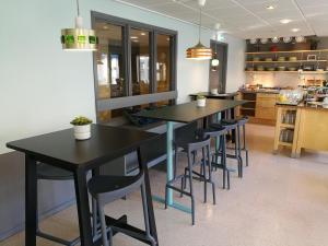 Lounge oder Bar in der Unterkunft STF Malmö City Hostel & Hotel
