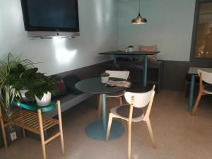 TV/Unterhaltungsangebot in der Unterkunft STF Malmö City Hostel & Hotel